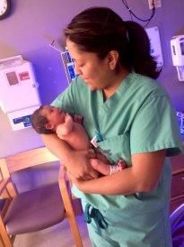 Nicolle Gonzales, Navajo nurse-midwife