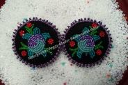 Kwek Peggy Kinder beaded earrings